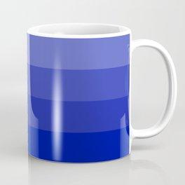 Four Shades of Blue Coffee Mug