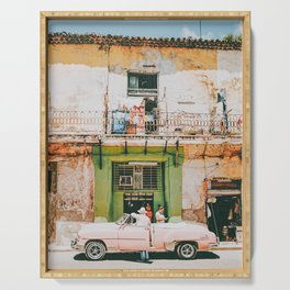 Summer in Cuba Serving Tray
