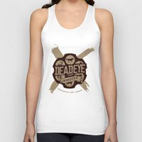 whiskey Tank Tops featuring Deadeye Whiskey! by Nick Rees Illustration