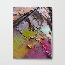 Enamel Metal Print
