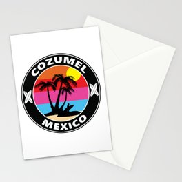 Surf Cozumel Mexico Stationery Cards