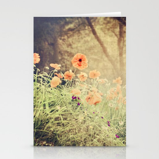 Orange pop Stationery Cards