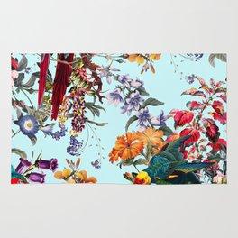 Floral and Birds XXXIV Rug