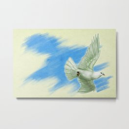 Dove of Peace Metal Print
