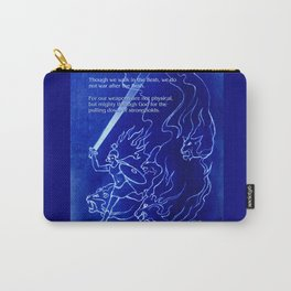 Warrior Girl 5 With Heavenly Host Carry-All Pouch