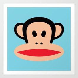 Julius Monkey by Paul Frank Art Print