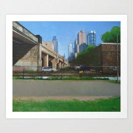 Bowels Of The City Art Print