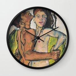 Liebespaar (1913) - Kolo Moser Wall Clock