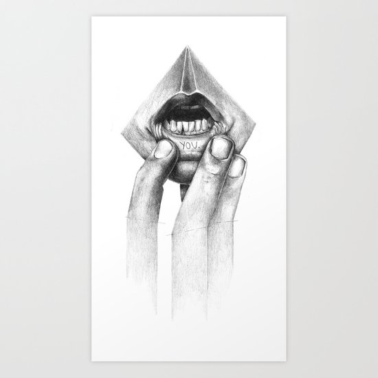 little secret.... Art Print