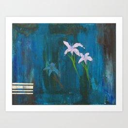 Diamond Flower Art Print