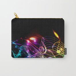 Music Notes in Color Carry-All Pouch