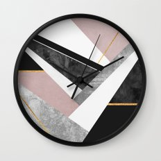 Lines & Layers 1 Wall Clock