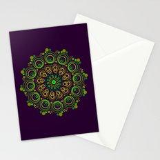 Deep Purple Stationery Cards