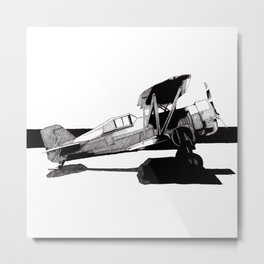 Curtiss Hawk IV Metal Print