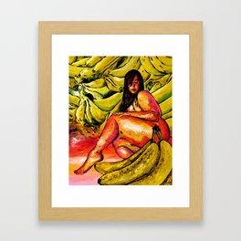 Banana Boat Remixed  Framed Art Print