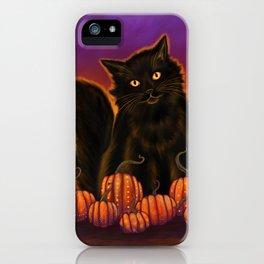 Cat Spirit of Halloween iPhone Case