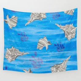 Sea Shells Wall Tapestry