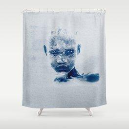 Magnificent EYES - Karo Tribe Ethiopia Shower Curtain
