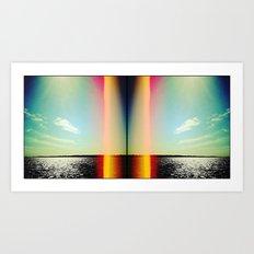 'FACING WEST' Art Print
