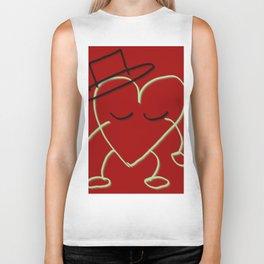Valentine's Boy by Lu Biker Tank