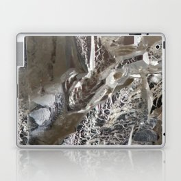 Silver Crystal First Laptop & iPad Skin