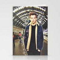 louis Stationery Cards featuring Louis by Claudia