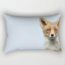 That Foxy Face Rectangular Pillow