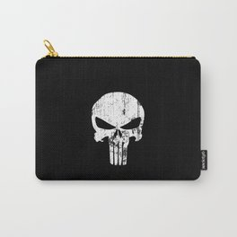The Punisher Logo Black Background Carry-All Pouch