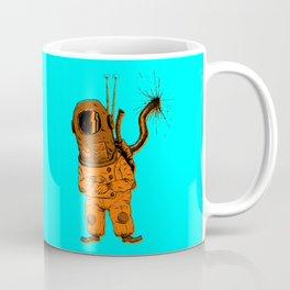 The Time Traveling Man (Color) Coffee Mug