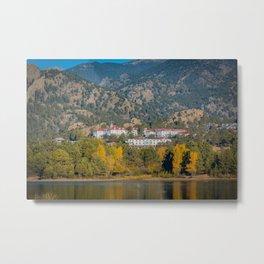Beginning of Autumn Stanley Hotel Estes Park Rocky Mountains Colorado Metal Print