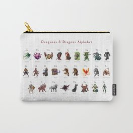 Monster Alphabet Carry-All Pouch