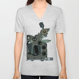 Machine one Unisex V-Neck