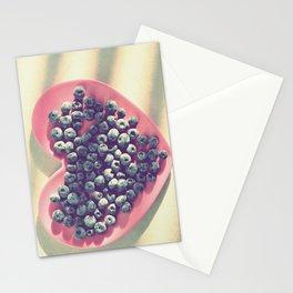 Blueberry love Stationery Cards