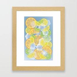 When life gives you citruses... Framed Art Print