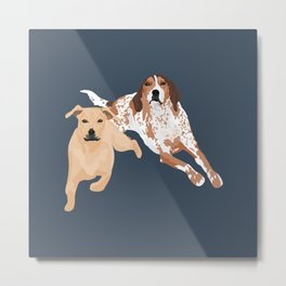 Clovis and Rubee Metal Print