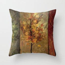 Tree Story Throw Pillow