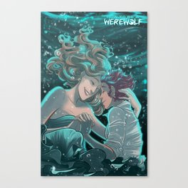 How to be a Werewolf: Chapter 7 Cover Canvas Print