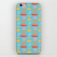 macaron iPhone & iPod Skins featuring Macaron by Ashley C. Kochiss