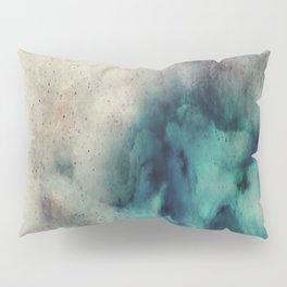 Blue Nebula Smoke Pillow Sham