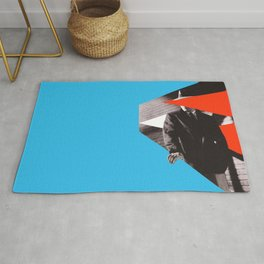 The Maltese Falcon - Collage artwork Rug
