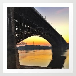 Eads Bridge Art Print