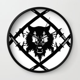 Hollow Squad Logo  Wall Clock