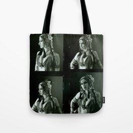 Old Contact Sheet of Rachel Brice 2 Tote Bag