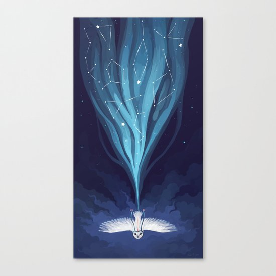 Night Owl 2 Canvas Print