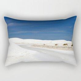 White Sand Reaches Up To The Horizon Rectangular Pillow