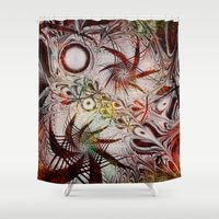 holiday Shower Curtains featuring Holiday by Klara Acel