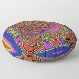 Tortoise and the Hare Floor Pillow