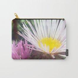 Watercolor Flower, Fleabane 06, RMNP, Colorado Carry-All Pouch