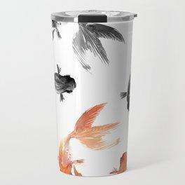 Goldfish Feng Shui, Koi Fish Travel Mug