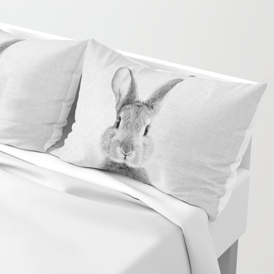 Rabbit - Black & White by galdesign